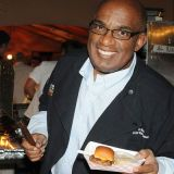 <em>Today</em> show host Al Roker was working overtime manning the grill and dishing out his savory sliders.
