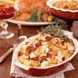 "<p>The star of Thanksgiving is roast turkey, glazed and tender and encircled by fresh herbs and fruits. Bake earthy potatoes and turnips with smoky bacon and rosemary for an appetizing alternative to mashed potatoes.</p><br />  <p><b>Recipes:</b></p> <p><a href=""/recipefinder/roasted-potatoes-turnips-3786"" target=""_new""><b>Roasted Potatoes and Turnips</b></a></p> <p><a href=""/recipefinder/butter-basted-roast-turkey-mushroom-gravy-3021"" target=""_new""><b>Butter-Basted Roast Turkey with Mushroom Gravy</b></a></p> <p><a href=""/recipefinder/sourdough-mushroom-stuffing-3242"" target=""_new""><b>Sourdough Mushroom Stuffing</b></a></p> <p><a href=""/recipefinder/spiced-baked-sweet-potatoes-walnuts-3206"" target=""_new""><b>Spiced Baked Sweet Potatoes with Walnuts</b></a></p>"
