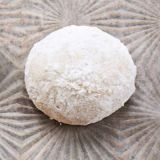 "<p>Perfect for the occasion, these buttery balls are sure to please. One batch yields 8 dozen cookies, so you should have enough to go around. Good news for the bride: Since the confectioners'-sugar coating is white, you can indulge without worrying about a ruined dress!<p><br/>  <p><b>Recipe: </b><a href=""/recipefinder/mexican-wedding-cookies-ghk1207"" target=""_new"">Mexican Wedding Cookies</a></p>"