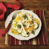 "This refreshing salad takes advantage of low-cost, in-season oranges and jicama.<br /><br /><b>Recipe: <a href=""/recipefinder/jicama-orange-salad-recipe"" target=""_blank"">Jicama and Orange Salad</a></b>"