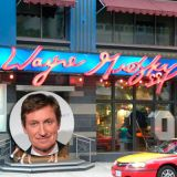 "<p><b>Restaurant:</b> <a href=""http://www.gretzky.com/restaurant/"" target=""_blank"">Wayne Gretzky's 99</a>, Toronto, Ontario</p><br /> <p>Up north, Wayne Gretzky fans can dine inside a shrine to his years in the National Hockey League. His eponoymous sports bar serves up some of ""The Great One's"" favorite comfort foods, like Grandma Gretzy's pan-fried potato and cheddar cheese pierogies dressed up with smoky bacon and caramelized onions, as well as their version of Canada's classic Poutine: fries with cheese curds and gravy.</p><br /> <p><b>Try this recipe:</b> <a href=""http://www.delish.com/recipefinder/pierogi-cabbage-2276"" target=""_blank""><b>Pierogi and Cabbage</b></a></p>"