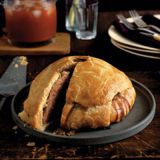 "<p>Garlicky, spicy pork in a tender pastry crust is an English Christmas tradition, but you can use it to help celebrate another ""season"" — Royal wedding season!</p><br /> <p><b>Recipe: </b><a href=""/recipefinder/english-pork-pie-recipe-opr0310"" target=""_blank""><b>English Pork Pie</b></a></p>"