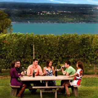 <p><b>State:</b> New York<br /> <b>Wine region origin:</b> 1860<br /> <b>Specialty:</b> Riesling, Chardonnay and Gewurztraminer</p><br />  <p>More than 100 wineries surround the four main Finger Lakes and they supply 90% of the wine produced in New York State. The Pleasant Valley Wine Company is the region's oldest winery and has been winning awards across the world since 1867. It survived through Prohibition on sales of sacramental and medicinal wine. Today, the region is an appreciated getaway by winos and families alike for the beautiful scenery, museums and cultural centers and cheap wine tastings ($2-$3 per winery)!</p>