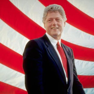 <p>As the governor of Arkansas, Bill Clinton frequented Doe's Eat Place in Little Rock where he often ate greasy jalapeño cheeseburgers with lettuce, tomato, mayonnaise, pickles, and onions. Later, while in the White House, the President's penchant for McDonald's fast food was spoofed on <i>Saturday Night Live</i>. After two heart-related surgeries in 2004 and 2010, Clinton became a vegan in 2011.</p>