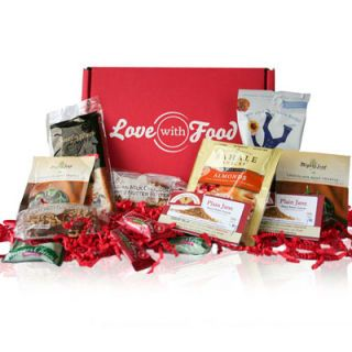 "<p>Gifting a Love with Food subscription to a loved one combines unique products and their own snacking preferences for the perfect foodie fest in a box. Each month, a box stuffed full of gourmet goodies is delivered and a meal is donated to a hungry child through national food banks. The recipient can then order their favorites online for discounted rates and accumulate points to put toward future snacks. Learn more about their impact <a href=""https://lovewithfood.com/meals_donated"" target=""_blank"">here</a>.</p>