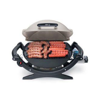 "We tend to associate Weber with its charcoal offerings, but don't let that presumption discount this well-proportioned <a href=""http://www.amazon.com/gp/product/B000WOTUCI"" target=""_blank"">propane cutie</a> ($149)."