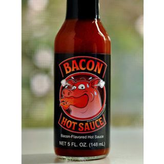 "<p>It seems that bacon is appearing in everything these days, from candy and desserts to beverages like coffee and beer. And like bacon, hot sauce seems to make everything taste a little better. So why not combine the two in a bacon-flavored hot sauce? That was the revelation had by the three creators behind Bacon Hot Sauce one Sunday morning, anyway, and since then, the product's fan base has been steadily growing. Try it in your favorite meaty foods, like burgers, in a bloody mary, or, of course, on top of any breakfast dish.</p> <p><a href=""http://www.baconhotsauce.com/"" target=""_blank"">baconhotsauce.com</a></p>"