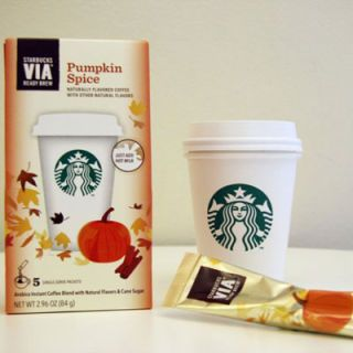 "<p><a href=""http://www.yumsugar.com/Via-Ready-Brew-Pumpkin-Spice-Review-24864722"" target=""_blank"">Pumpkin spice lattes</a> become a valid excuse to enjoy a coffee break every day.</p>"