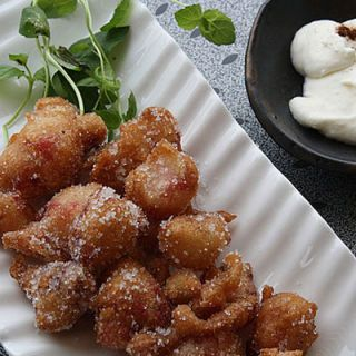 <p>This dish transforms ripe, red strawberries into anything but a health food when they're tossed in a batter and fried.</p>