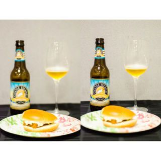 "<p><b>TW</b>: ""With fish, any kind of white meat, you wanna have like a lighter beer. The thing with beer is you wanna do one of three C's: It's either you wanna contrast it, complement it, or cut it. Kolsch is a lighter German style from the Old World. It's a summer, seasonal beer: very light, crisp, little bready. Not bitter, not hoppy or anything like that – just really nice and smooth. A good, refreshing, summertime lawnmower beer.""</p> <br /> <p><b>Verdict</b>: The crisp carbonation washed out the slick, doughy mouthfeel of the fish filet breading, while the citrus helped dress up the tartar sauce.</p> <br /> <p><b>Goose Island Summertime Kolsch</b></p> <p><i>Seasonal</i></p> <p>Illinois — ""The color of sunshine, with a light fruity aroma and a hint of fruity acidity, this is the perfect summer session ale. A Kolsch beer brewed in the traditional German fashion, you'll find yourself enjoying and savoring each sip of summertime.""</p> <br /> <a href=""http://www.totalwine.com/eng/product/goose-island-summertime-kolsch/92318126"" target=""_blank"">$8.49 for a 6 pack of 12 ounce bottles @ Total Wine</a>"