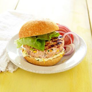 <p>This fresh take on a burger subs salmon for the traditional beef, making it a lighter alternative.</p>