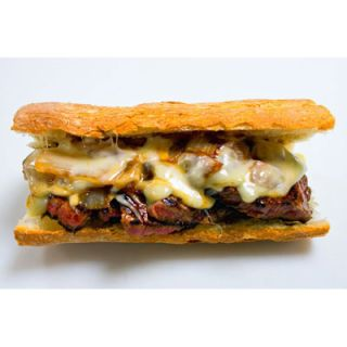 Aside from its team, the New York Mets stadium gets to boast another fan favorite: legendary meat purveyor Pat LaFrieda's original filet mignon steak sandwich. The hand-cut black Angus meets Monterey jack cheese, sweet caramelized onions, and a toasted French baguette for a taste that's hard to beat.