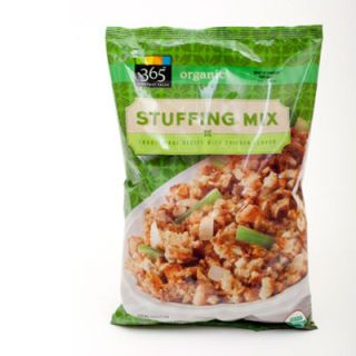 <p>If you're an organic eater, never fear, there's a quality stuffing mix out there for you, too. Prepare some veggies, mix in some butter, and you'll have a decadent dressing or stuffing in no time.</p>