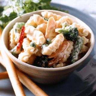 <p>Kids won't question the rich creaminess of this updated mac and cheese, even though it's studded with veggies. Even better, the no-fuss recipe will have you out of the kitchen in the blink of an eye.</p>