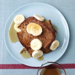 "<p>Why wait for the weekend to enjoy French toast when you can whip up this irresistible breakfast in practically no time? Smear some PB between the slices to pack more protein in your breakfast.</p> <p><strong>Recipe:</strong> <a href=""http://www.delish.com/recipefinder/banana-french-toast-recipe-mslo0213"" target=""_blank""><strong>Banana French Toast</strong></a></p>"