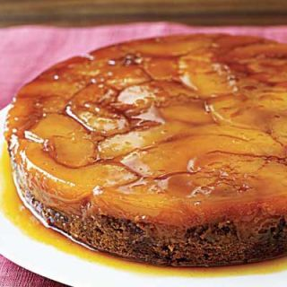 "<p>After several days of ripening, quinces will turn a golden yellow and give off a lovely floral aroma. They remain hard, even when ripe, so they stand up well to baking like in this decadent cake.</p> <p><strong>Recipe: <a href=""http://www.delish.com/recipefinder/upside-down-quince-gingerbread-cake-rbk1107"" target=""_blank"">Upside-Down Quince Gingerbread Cake</a></strong></p>"