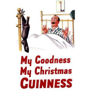 "<p>The ""My Goodness, My Guinness"" slogan got a tweak around the holidays in this vintage ad.</p>"