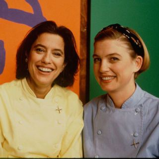 "<p>In its infancy, the Food Network had a few ""stand and stir"" shows mixed in with food news programming. Looking to add a little more zest, the network welcomed Mary Sue Milliken and Susan Feniger, a.k.a ""Too Hot Tamales,"" to the lineup. The duo, both classically trained chefs who co-owned Border Grill, a modern Mexican eatery in Santa Monica, CA,  taught viewers their way of fusing Mexican flavors with ingredients that many cooks didn't traditionally associate with Latin cuisine.</p>"