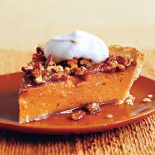 "<p>Nothing says Southern hospitality better than this scrumptious pie, which combines two regional specialties.</p> <p><b>Recipe: </b><a href=""/recipefinder/sweet-potato-pecan-pie-desserts"" target=""_blank""><b>Sweet Potato and Pecan Pie with Cinnamon Cream</b></a></p>"