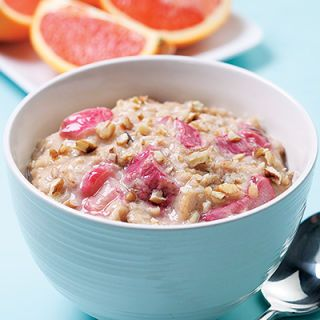 <p>Perk up your morning oatmeal with the addition of tangy rhubarb. Using milk for this oatmeal gives it a calcium boost, but the recipe also works well with water — and you'll save about 60 calories.</p>