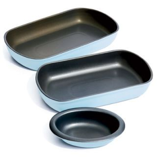 <b>TRY IT:</b> Dress up your dining table with a set of Nigella Lawson Living Kitchen Oven to Tableware ($16 to $40). The nonstick pieces are great for baking, serving, and cleanup. If you love her trademark color, robin's egg blue, store baked goods in her Cake Tins ($20). For cheese prep, try her Parmesan Grater ($12), which nestles comfortably in your hand.<br /> <b>SKIP IT:</b> The Mixing Bowls ($60 for four) get messy if you hold them close, as Lawson suggests, and have no extras for the price.