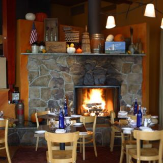 "<p><b>Hot Spot:</b> <a href=""http://www.fireplacerest.com/home/"" target=""_blank"">The Fireplace</a>. Perfect for date night, the centerpiece of this New England eatery is clearly their blazing, crackling, roaring fireplace.</p> <p><b>Coziest Dish:</b> <a href=""http://www.delish.com/recipefinder/veal-mushroom-meat-loaf-bacon-recipe-8053"" target=""_blank"">Bacon-wrapped Meatloaf</a>. Comfort food is the main focus of menu, which features rib-sticking dishes like the lobster mac 'n cheese and their heart-warming bisque.</p> <p><b>Winter Warming Drink:</b> Hot Mulled Wine. Wine is revved up with seasonal flavors of orange and cloves. </p>"