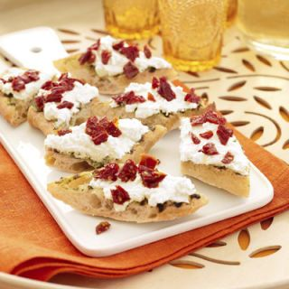 Detta simple recipe is easily assembled with store-bought ingredients. Check out this easy appetizer recipe.