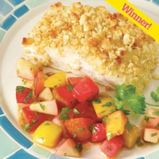 "Doug Winter of Woodland, WA, won a prize in <i>Quick & Simple</i>'s His Best Recipe contest with a delectable fish and zesty fruit salsa. <br><br><b>Recipe:  <a href=""/recipefinder/macadamia-crusted-halibut""target=""_blank"">Macadamia-Crusted Halibut</a></b>"