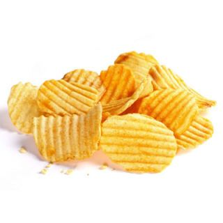 """A chef reportedly invented potato chips in 1853, but he wasn't trying to make the world's best snack food. Chef George Crum sent the paper-thin potatoes cooked until they were crisp to a customer in his Saratoga Springs restaurant who complained that his fries were too thin. """"Saratoga Chips"""" became a menu favorite, but potato chips didn't gain widespread popularity until they were mass-produced in the 1920s.<br /><br />Get recipes using <a href=""""http://www.delish.com/search/fast_search_recipes/?search_term=potato%20chips"""" target=""""_blank""""><b>potato chips</b></a>."""