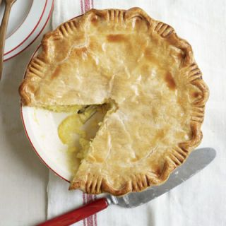 "<p>Devotees of the Golden Lamb's sweet yet tart citrus pie owe a debt of gratitude to early-19th-century Shaker settlers, who had the genius idea to fill a tender crust with thinly sliced lemons marinated in sugar. The inn and restaurant, which has operated in the town of Lebanon, Ohio, since 1803, also ranks as Ohio's oldest business.</p><br /> <p><b>Recipe: </b><a href=""/recipefinder/shaker-lemon-pie-recipe-clv0510"" target=""_blank""><b>Shaker Lemon Pie</b></a></p>"