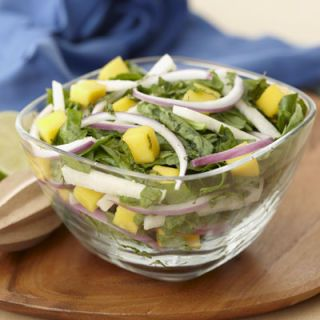 "<b>Submitted by:</b> <a href=""/rf/user/chrise_tx/recipebook"" target=""_blank""><b>chrise_tx</b></a><br /><br />Fresh spinach, grated jicama, cubed mango, chopped fresh mint, and red onion are drizzled with lime dressing for tangy-sweet salad medley.<br /><br /><b>Recipe:</b> <a href=""/recipefinder/Jicama-Mango-Mint-Me-F0BED90A73F911DFB110C0537994040D"" target=""_blank""><b>Jicama, Mango, Mint Medley</b></a>"