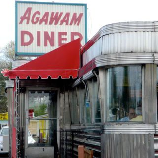 "<p><b>Pit Stop:</b> Agawam Diner, U.S. Route 1 and 133, Rowley, MA, (978) 948-7780</p><br /><p>Just about 28 miles north of Boston lies the tiny town of Rowley, home to the humble Agawam Diner. Considered to be one of the best diners in the country by <a href=""http://www.saveur.com/article/Travels/The-Diner"" target=""_blank""><i>Saveur magazine</i></a>, it's been visited by many hungry travelers (and foodies) for more than 70 years. </p><p><b>Road Tip:</b> Go for the creamy chicken pie. But stay for the dreamy <a href=""http://www.delish.com/recipefinder/coconut-custard-pie-3349"" target=""_blank"">coconut cream pie</a>. </p>"