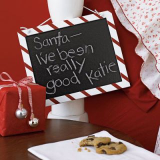 <b>...with candy cane stripes, and let the little ones leave a note for Santa Claus. </b>