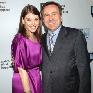 <p>Not the first meeting of these two food personalities, <em>Top Chef</em> judge Gail Simmons and season four guest-judge chef Daniel Boulud hit the red carpet at Bravo's A-List Awards. Simmons had another big event this summer: In August she wed her longtime boyfriend in New York City.</p>