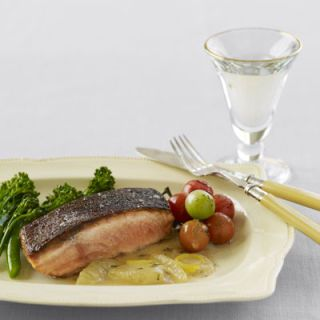 """<p>With all of the sweets and calorie-laden favorites around the holiday season, try seafood for Christmas dinner. This crisp, seared salmon dish will become a hotly anticipated new tradition.</p><br /><p><b>Recipe: <a href=""""/recipefinder/crispy-salmon-butter-sauce-recipes"""" target=""""_blank"""">Crispy Salmon with Lemon-Brown Butter Sauce</a></b></p>"""