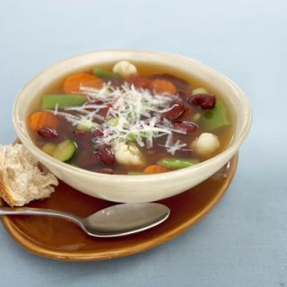 <p>Looking for something hearty for dinner? Dish out a savory minestrone or lentil soup full of all your favorite veggies. Then reach for a Vino Nobile di Montepulciano or an Italian Dolcetto from the Piedmont region.</p><br />