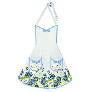 "Ultrafeminine bows and blue poppies make you feel like twirling, even with tongs in hand. <i>($32.95; <a href=""http://www.jessiesteele.com/""target=""_new""><b>jessiesteele.com</b></a>)</i><br /><br /> It's as blue as the fresh blueberries in our grilled <a href=""/recipefinder/pork-tenderloin-blueberry-barbecue-sauce""target=""_blank""><b>Pork Tenderloin with Blueberry Barbecue Sauce</b></a>."