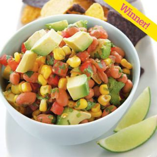 "Jean Scobie of McKinleyville, CA, took home the top prize in the <i>Quick & Simple</i> No-Cook Summer Recipes Contest for this vegetable medley. <br><br><b>Recipe:  <a href=""/recipefinder/cowboy-caviar"" target=""_blank"">Cowboy Caviar</a></b>"