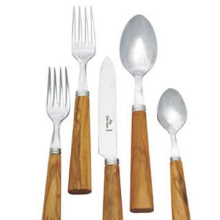 "<p>Olive wood flatware adds warmth to the table. Zen, $195 per 5-piece place setting. Available at Sue Fisher King: 888-811-7276; <a href=""http://www.suefisherking.com/"" target=""_new"">suefisherking.com</a>. <p/>"