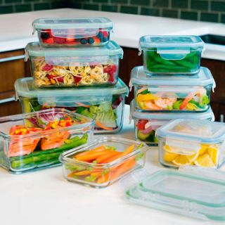 """If you're leery of plastic, here's our top choice in glass. You can microwave in these containers without giving it a second thought and never worry about stains remaining. The plastic lid has a gasket and snaps on securely on all four sides, providing a tight seal. However, the lid did show minor discoloration after we zapped the <a href=""""/search/fast_search_recipes/?search_term=tomato sauce"""" target=""""_blank""""><b>tomato-sauce</b></a>-filled container, and it became less flexible and more difficult to snap into place after being washed in the dishwasher. Available in 1.4- to 8-cup sizes. (<a href=""""http://www.snapware.com"""" target=""""_blank"""">snapware.com</a>)"""