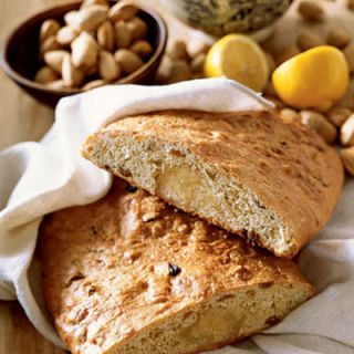"Almonds ground into a sweet paste supply the signature filling in a Dutch Paasbrood.<br /><br /><b>Recipe: <a href=""/recipefinder/dutch-paasbrood-3043"" target=""_blank"">Dutch Paasbrood</a></b>"