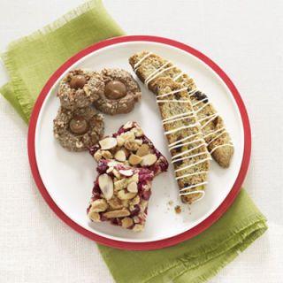 """<p><b>Get his recipes:</b></p> <p><a href=""""/recipefinder/cherry-pistachio-blue-corn-biscotti-recipe-ghk1210"""" target=""""_blank""""><b>Cherry-Pistachio Blue Corn Biscotti</b></a></p> <p><a href=""""/recipefinder/mexican-chocolate-thumbprints-recipe-ghk1210"""" target=""""_blank""""><b>Mexican Chocolate Thumbprints</b></a></p> <p><a href=""""/recipefinder/cranberry-orange-streusel-bars-recipe-ghk1210"""" target=""""_blank""""><b>Cranberry-Orange Streusel Bars</b></a></p>"""