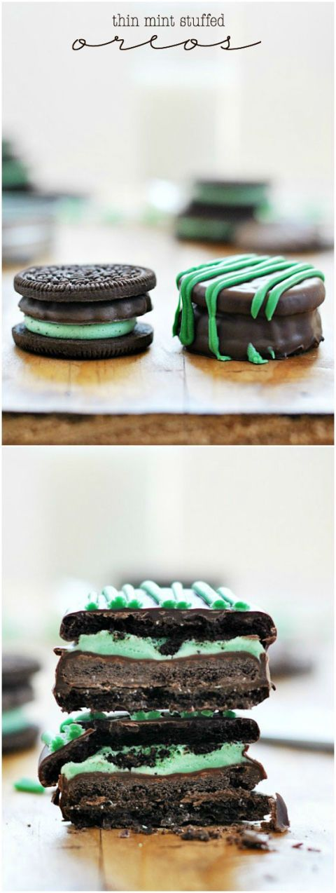 """<br /><br /> <p>Get the recipe at: <a href=""""http://www.somethingswanky.com/thin-mint-stuffed-oreos-thin-mint-printable/"""">somethingswanky.com</a></p>"""
