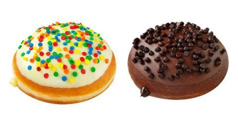 Stupendous New Krispy Kreme Doughnuts Brownie Batter Birthday Cake Batter Funny Birthday Cards Online Alyptdamsfinfo