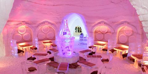 Cool Ice Hotels And Restaurants Hotels And Restaurants In Ice