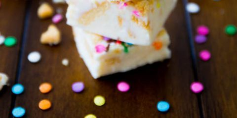 """<p>What's better than fudge? Not much, but funfetti and Golden Oreos sure do make it sweeter.</p> <p><strong>Get the recipe from <a href=""""http://sallysbakingaddiction.com/2013/08/26/funfetti-golden-oreo-fudge/"""" target=""""_blank"""">Sally's Baking Addiction</a>.</strong></p>"""