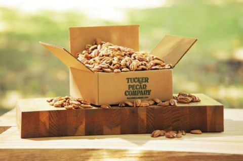 """<p>Your house sitter will go nuts for <a href=""""http://tuckerpecan.com/product-detail/category/classic-tins-natural"""" target=""""_blank"""">Tucker Pecans</a> ($42 for 2 pounds). For an extra-special touch, enclose a recipe for gooey pecan pie. </p>"""