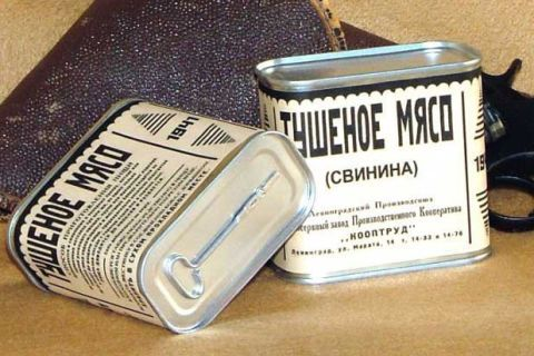 "<p>While it's common knowledge that Spam was popular with American GI's, a whopping 100 million pounds of the stuff was consumed by Russian forces during the war. ""Without Spam, we wouldn't have been able to feed our army,"" Russian Premier Nikita Krushchev later said.  </p>"
