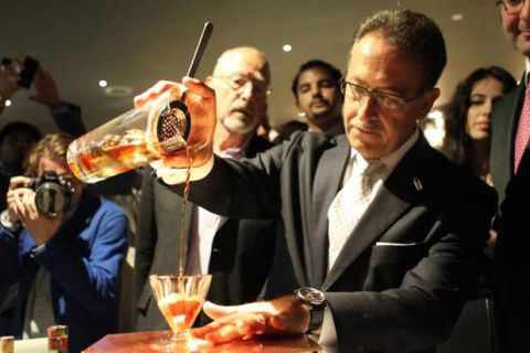 "<p><strong>Playboy Club, London</strong></p> <p>""With this drink, I wish to be written within the pages of history,"" writes award-winning mixologist Salvatore ""The Maestro"" Calabrese of his namesake. And indeed he did, using some of the oldest bottles around such as 1788 Clos de Griffier Vieux Cognac, Dubb orange curaçao from the late 1860s, and 1770 Kummel Liqueur, the cocktail earned a <em>Guinness World Record</em>. And at £5,500.00 — or about $9,230 — it deserves the honor. </p>"