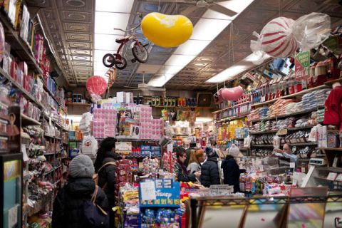While Economy Candy might not have a particular type of specialty candy, the novelty of this store is in its size. The store, which is located in the Lower East Side of Manhattan is doing everything super-sized and in bulk. Sugar-crazed customers can find almost anything in this shop — which despite containing super-sized products, is ironically quite small — like gumballs to rock candy to artisanal chocolates and New York-themed candy gifts.